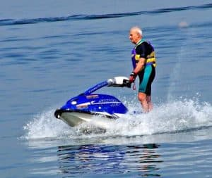Jet Ski on Table Rock Lake in Branson MO