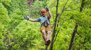 Zip Lining in Branson MO